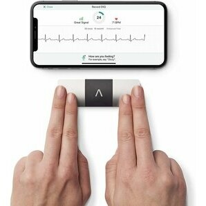 Kardia Mobile 6L enregistreur ECG 6 dérivations sans fil Alivecor